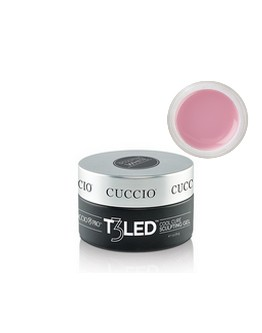 Gel T3 LED/UV rose Cuccio - 1 on