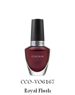 Vernis à ongles Cuccio - Royal Flush (Coll Royale) - 13 ml