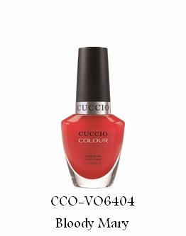 Vernis à ongles Cuccio - Bloody Mary (Cocktails) - 13 ml