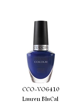 Vernis à ongles Cuccio - Lauren BluCal (Cinema Noir) - 13 ml
