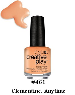 Vernis Creative Play CND - Clementine, Anytime - 13.6 ml (0.46 oz)