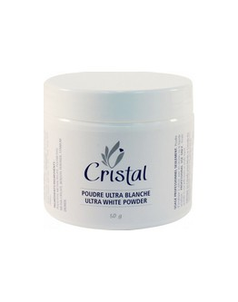 Poudre ultra-blanche Cristal - 50 g (2 on)