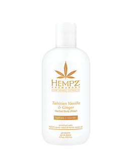 Gel douche Hempz  - Tahitian Vanilla & Ginger - 237 ml