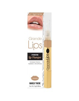 Gloss GrandeLips Barely There (beige) - 0.084 on (2.4 g)