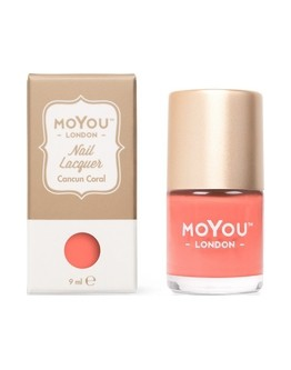 Vernis 'Cancun Coral' MoYou London - 9 ml
