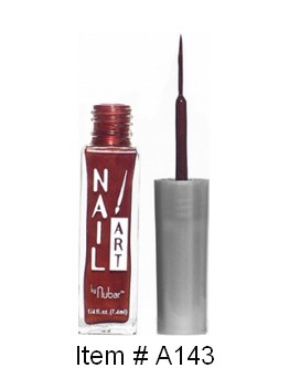 Vernis & pinceau fin Nubar 'Brown Frost' - 7.4 ml