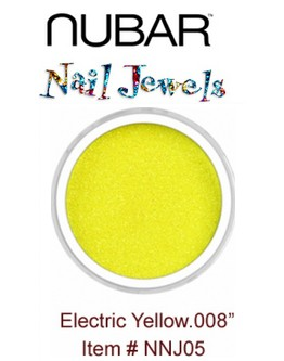 Paillettes Nubar 'Electric Yellow' .008'' - 15 g