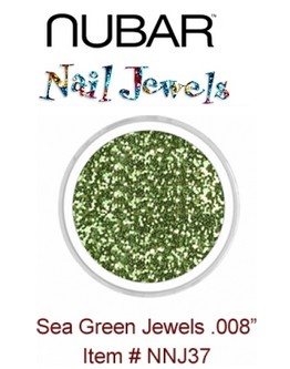 Paillettes Nubar 'Sea Green' .008'' - 15 g