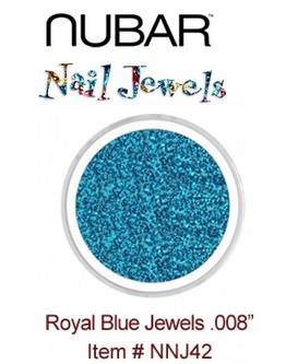 Paillettes Nubar 'Royal Blue' .008'' - 15 g