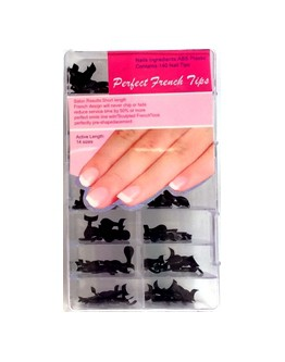 Perfect French Tips - Noir - 140/bte