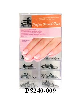 Perfect French Tips - Noir - 128/bte
