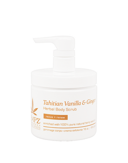 Gommage pour le corps Hempz - Tahitian Vanilla & Ginger- 454 g