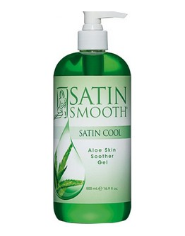 Gel apaisant à l'aloès Satin Smooth - 16 on (473 ml)